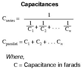 Capacitor Size Equation